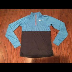 Nike Running DRI Fit 1/4 zip pullover S